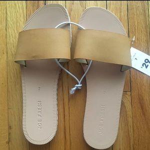 NWT | Joe Fresh Single Strap Sandals